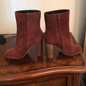 Sole Society Veronika Bordeaux Ankle Boot